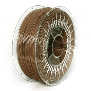 Filament PET 1,75 mm brązowy, 1 kg