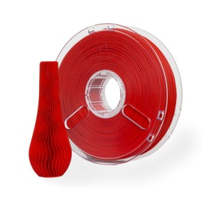 PLA PolyPlus filament 3,00 mm, red, spool 0,75 kg