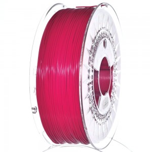 Filament PET 1,75 mm malinowy, 1 kg