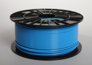 PLA filament 2,90 mm,  blue, spool 1 kg