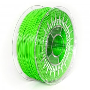 ABS+ filament 1,75 mm, bright green, spool 1 kg