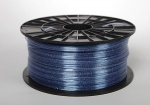 ABS-T filament 1,75 mm, sparkly blue, spool 1 kg