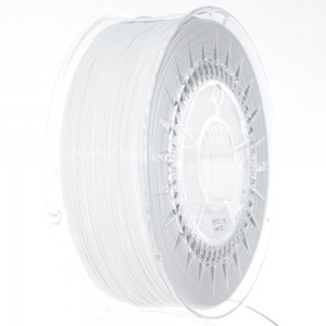 Filament PET 1,75 mm biały - 1 kg filamentu na szpuli