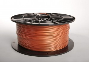 PLA filament 2,90 mm, copper, spool 1 kg